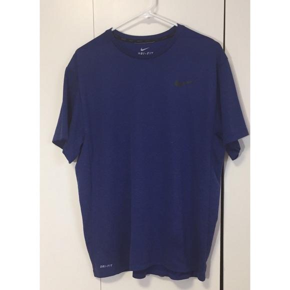 d0ca62b1 Nike Shirts | Mens Dri Fit Shirt Size Xl Blue | Poshmark